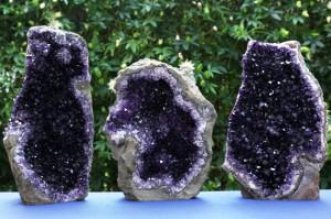Amethist geodes