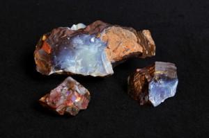 Opaal, boulderopaal ruw